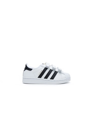 adidas Unisex Çocuk Superstar Sneakers EF4842.Beyaz Beyaz